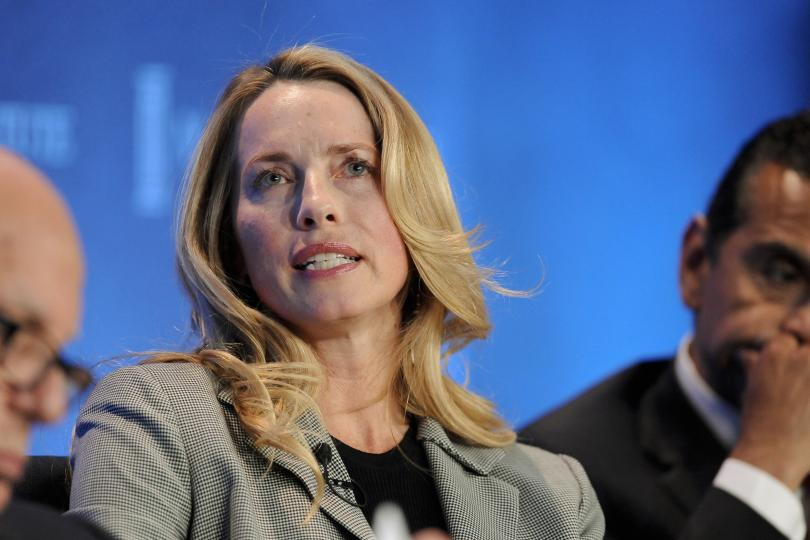 Laurene Powell Jobs está na lista dos mais ricos do Mundo (Foto: Reuters)