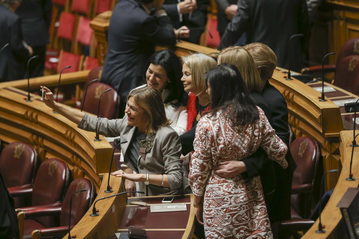 Tomada de posse do Presidente da República no Parlamento