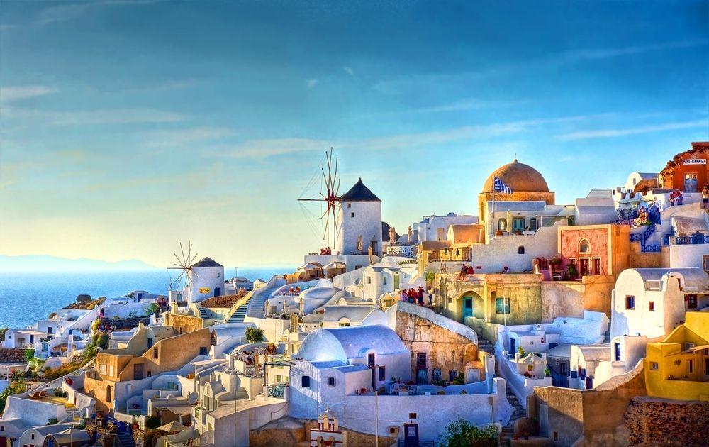 12. Santorini, Grécia