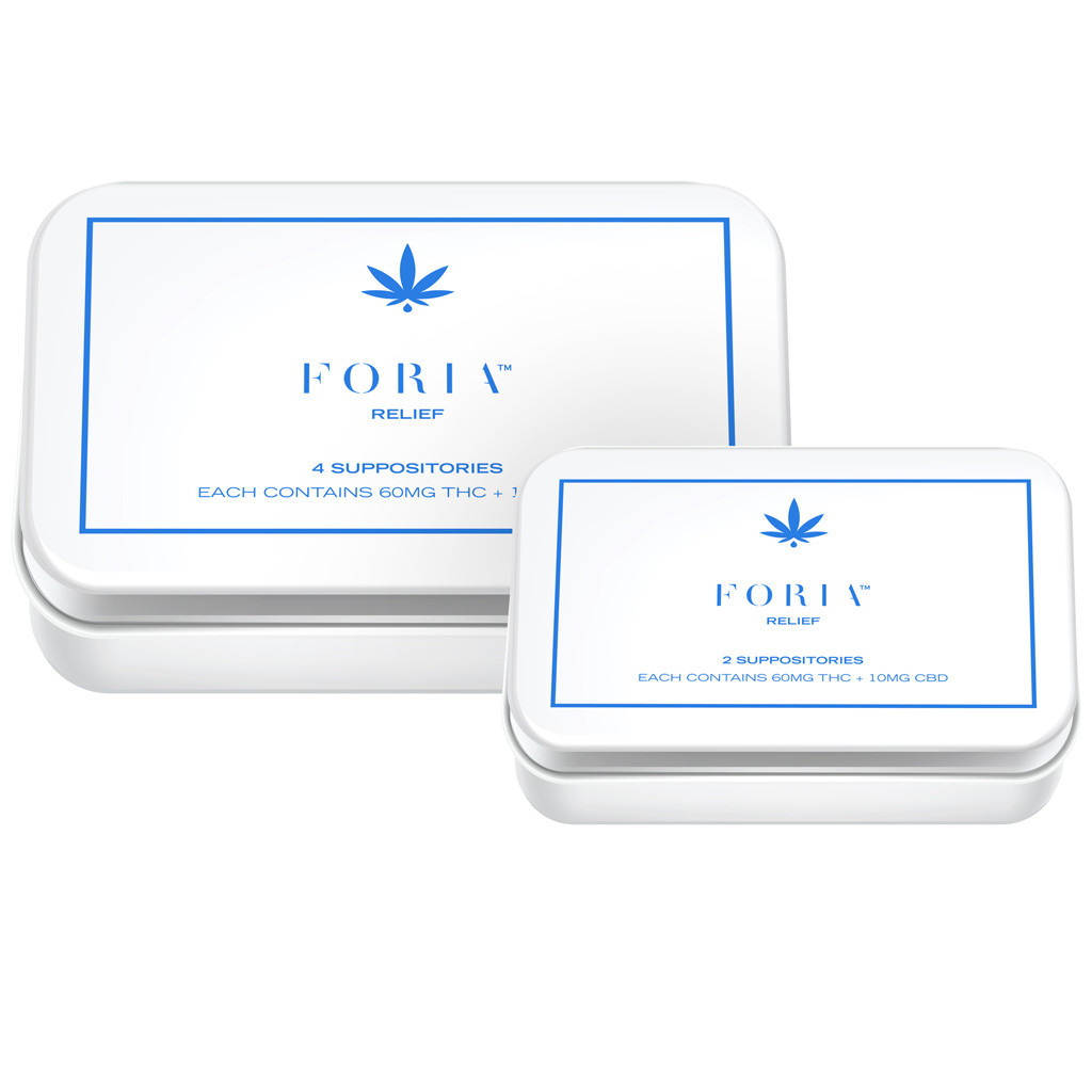 Colorado Foria Relief Suppositories