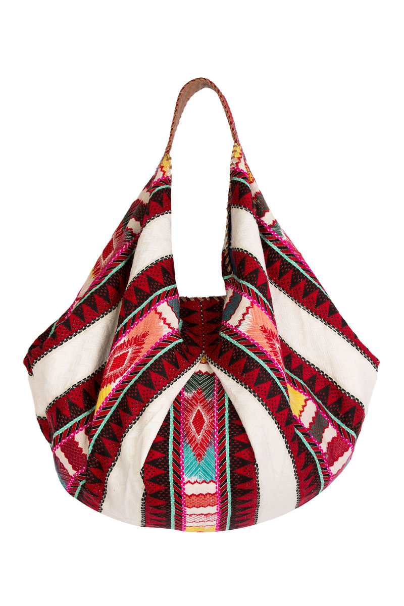 jhoonwest bag red aztec copy