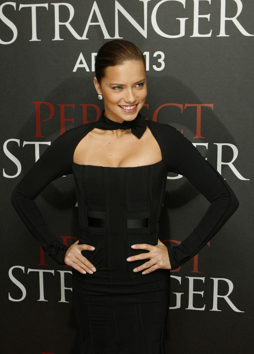"""Model Adriana Lima attends the premiere of the film """"Perfect Stranger"""" in New York"""