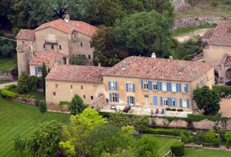 Château Miraval, no sul de França