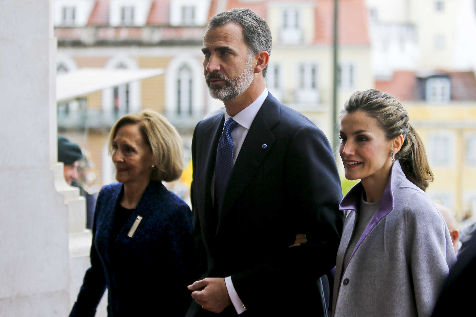 Spanish royal couple visit Portugal