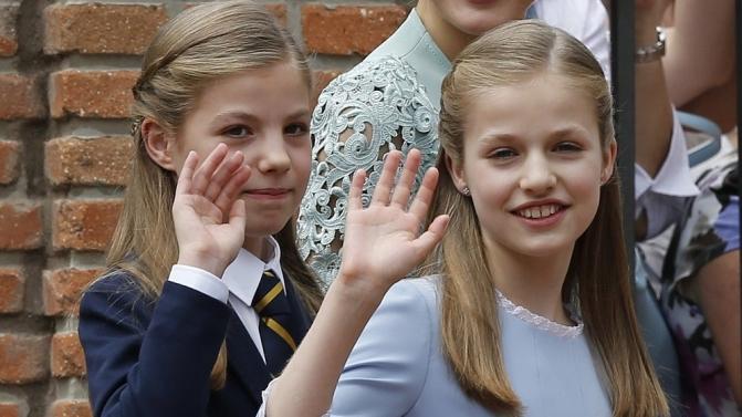 Princess Sofia celebrates her First Communion