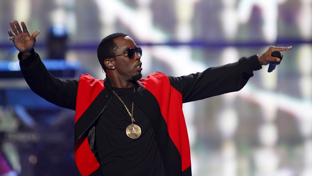Puff Daddy performs during the second night of the 2015 iHeartRadio Music Festival at the MGM Grand Garden Arena in Las Vegas