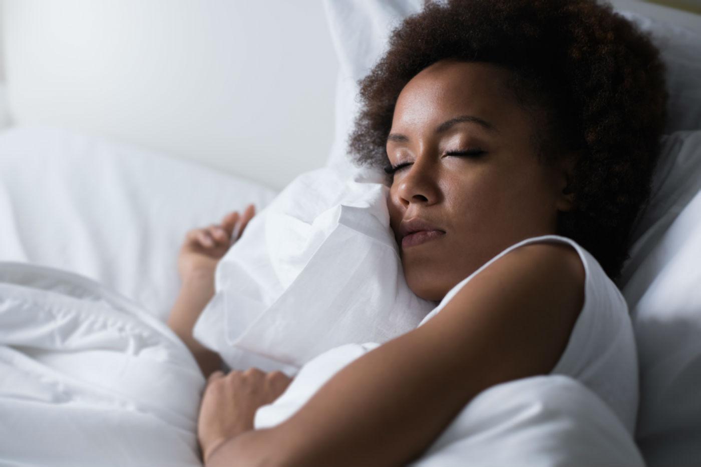 1 Mulher dormir